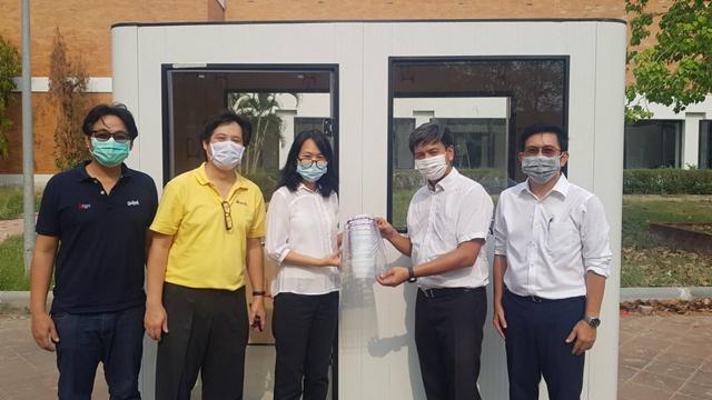 สยามสตีลฯ และหน่วยงาน ลัคกี้ บิลดิ้ง ซิสเท็ม บริจาคห้องตรวจผู้ป่วย COVID-19 สนับสนุนโรงพยาบาลทั่วไทย