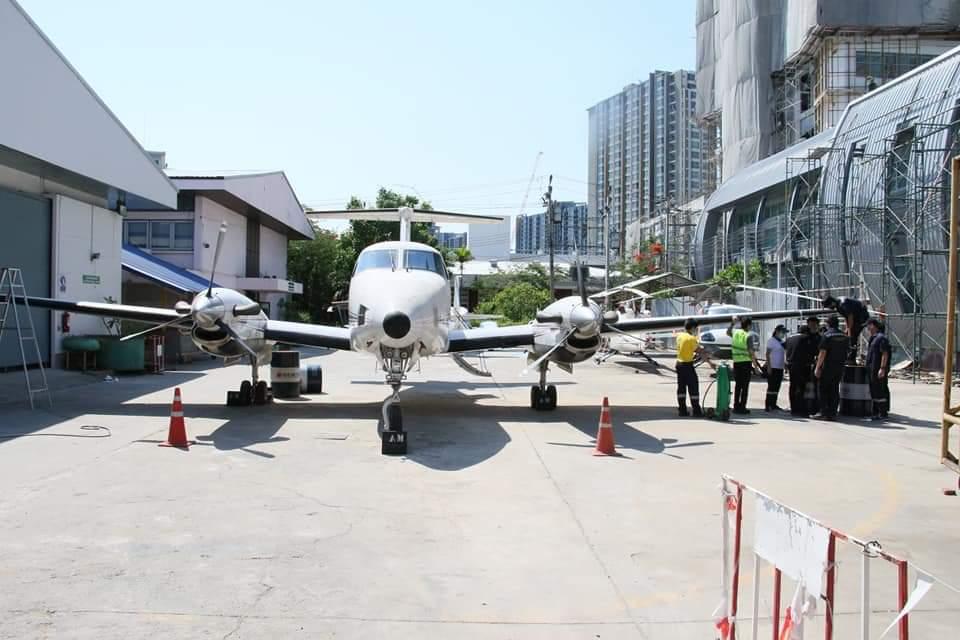 """สบพ.ทดสอบระบบเครื่องบิน เตรียมพร้อมหลักสูตร""""ช่างเครื่อง"""""""