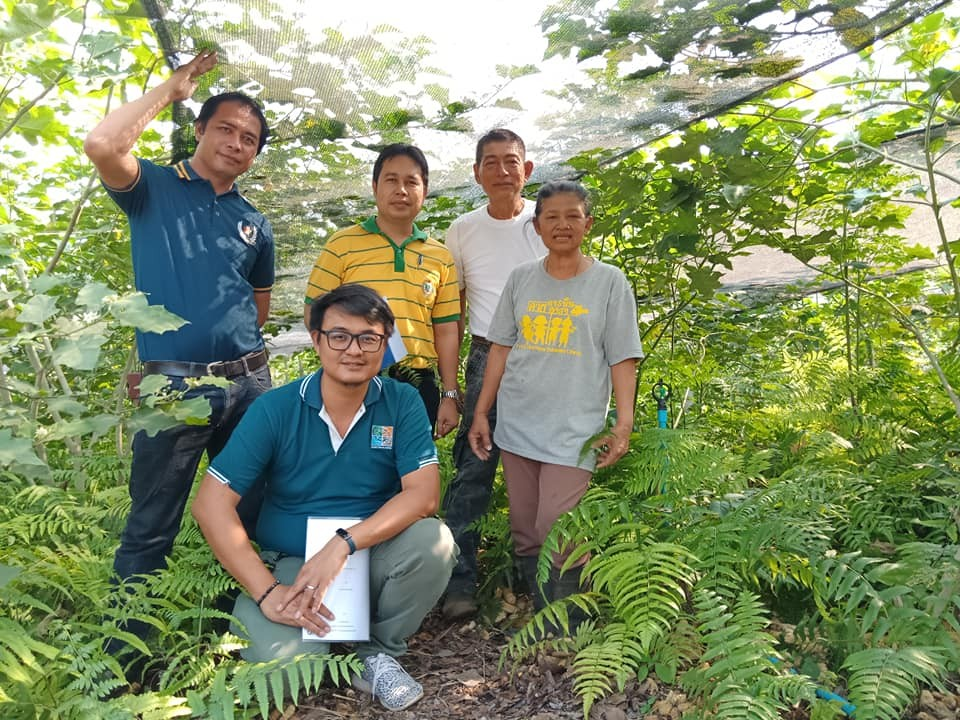 ทีมนักวิจัย และเกษตรกร