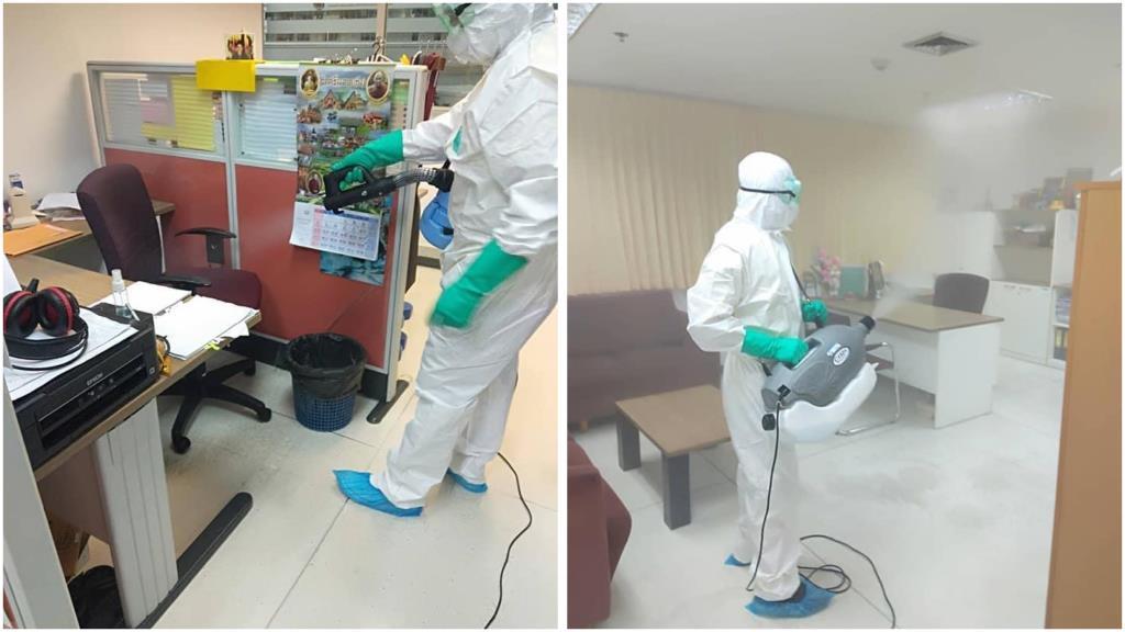 กกต. เร่งฆ่าทำความสะอาดฆ่าเชื้อโควิด-19 ที่สำนักวินิจฉัยและคดี  หลังพบพนักงานติดเชื้อ