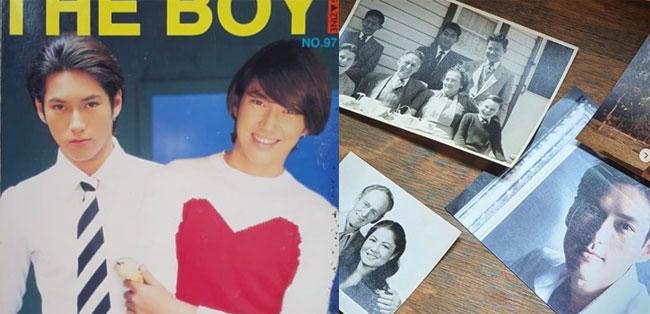 """ความทรงจำสีจาง """"พระเจสัน ยัง"""" โพสต์ภาพครอบครัว และเมื่อครั้งเป็นนักร้องดังยุค'90"""