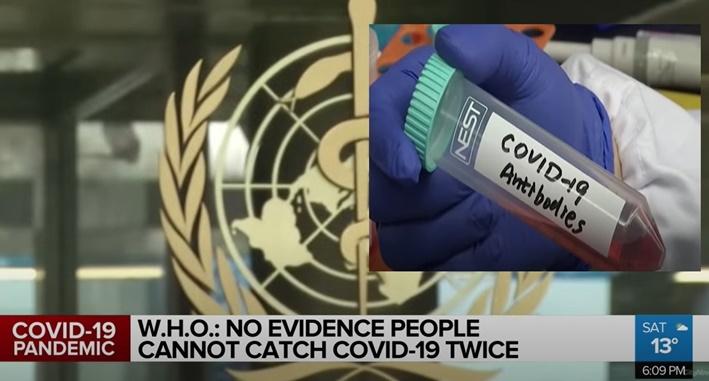 "In Clip: WHO ออกโรงเตือนกระแสฮิต ""Immunity Passport"" ไม่จริง คนป่วยโควิดอาจมีสิทธิ์ติดเชื้อใหม่ สหรัฐฯป่วยเกือบล้าน"