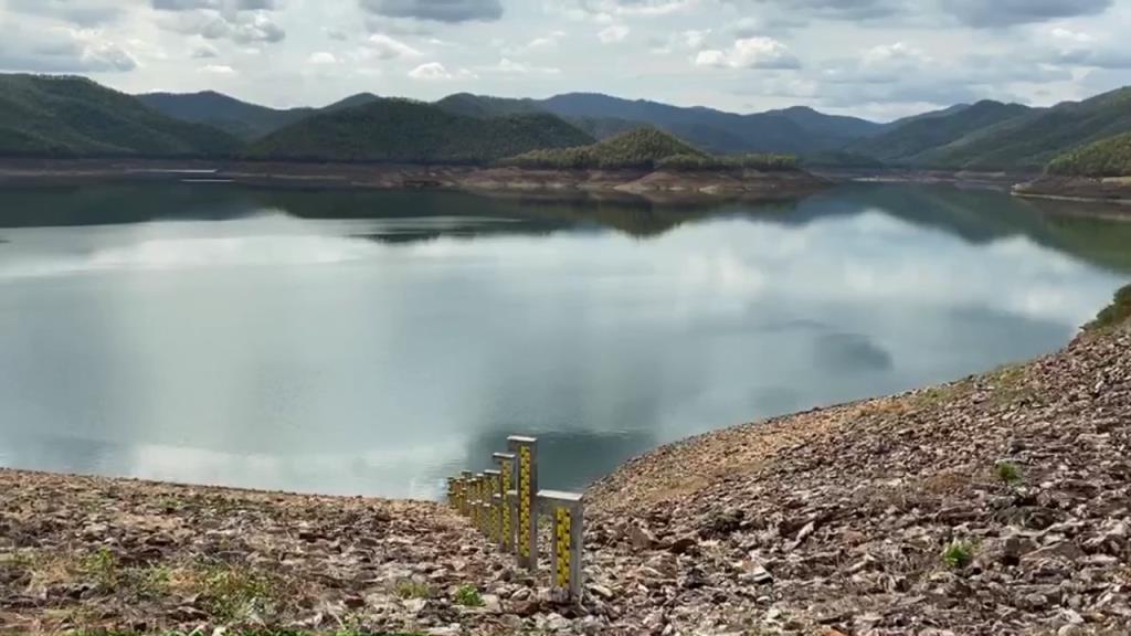 เขื่อนใหญ่เชียงใหม่2แห่งรับผลดีฝนตกหนักน้ำไหลเข้าเพิ่มรวมกว่า 1ล้าน ลบ.ม