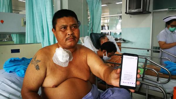 ทำกันได้! ชายวัย 47 เจาะคอนอนรักษาที่รพ. วานญาติเตียงข้างกันเช็กเงินเยียวยา 5 พัน ถูกแอบถอนหาย 3 พัน