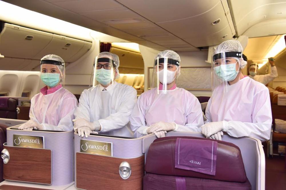 เที่ยวบินพิเศษของการบินไทย