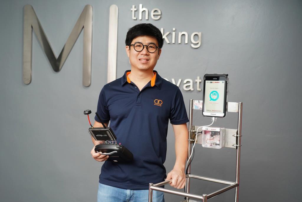 ดร.มหิศร ว่องผาติ ประธานเจ้าหน้าที่บริหารบริษัท HG Robotics หัวหน้าทีมพัฒนา