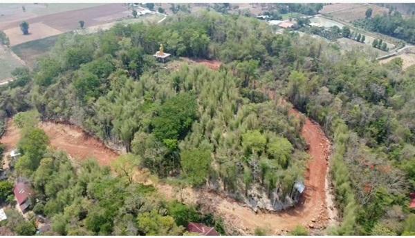 ป่าไม้ปราจีนฯ เอาผิดสำนักสงฆ์เขามะก่อง สระแก้ว ตัวไม้-บุกรุกป่าสงวน