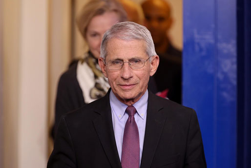 ดร.แอนโทนี เฟาชี ผู้เชี่ยวชาญชั้นนำเรื่องโรคระบาดของสหรัฐฯ