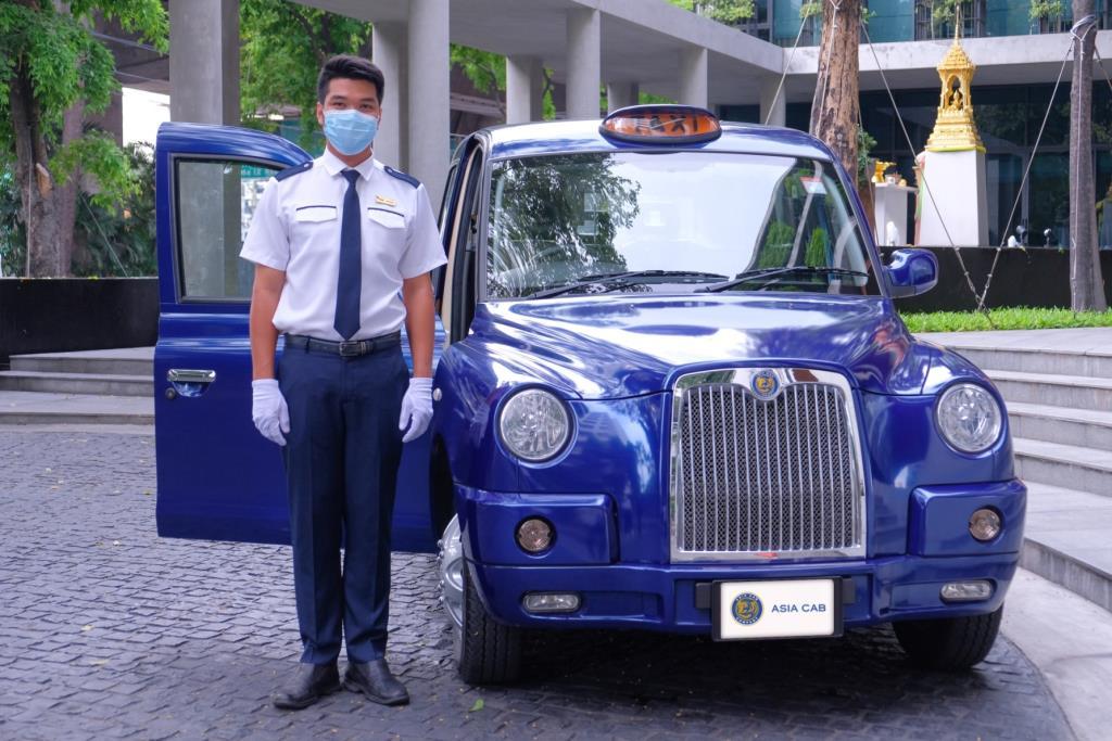 เอเชีย แค็บ ประเดิม ส่งรถรับหมอ ป้องกันติดเชื้อโควิด19 ก่อนเปิดตัว