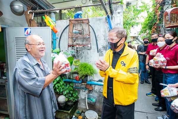สหพัฒน์ร่วมฝ่าวิกฤตโรคโควิด-19 มอบบะหมี่ซื่อสัตย์ 1,00,000 ซอง เพื่อประชาชน