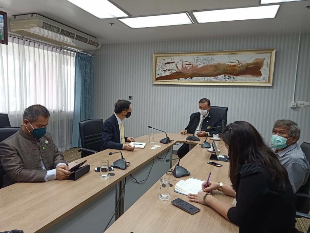 ป.ป.ส. หารือ การแพทย์แผนไทยฯ แนวทางนำกัญชาและพืชกระท่อมรักษาผู้ป่วย