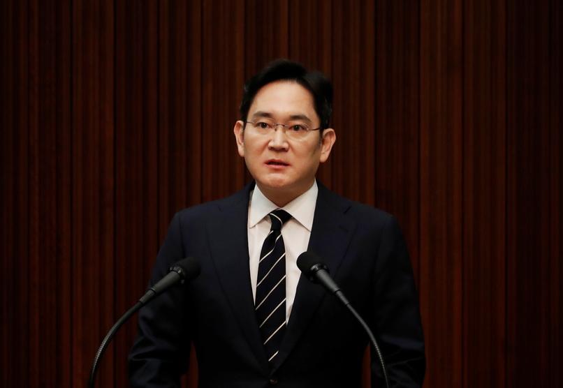 รองประธานซัมซุง 'ขออภัย' กรณีจ่ายสินบนฉาว-ยันไม่ให้สิทธิ์ 'ลูก' รับช่วงกิจการ