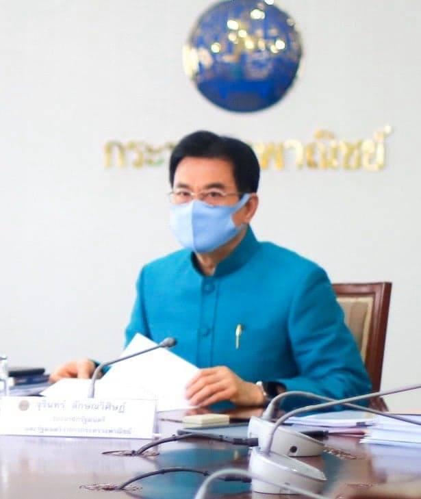 """""""จุรินทร์""""แจ้งข่าวดี มาเลเซียเปิดด่านปาดังเบซาร์ให้ไทยส่งออกได้แล้ว ดีเดย์ 7 พ.ค.นี้"""