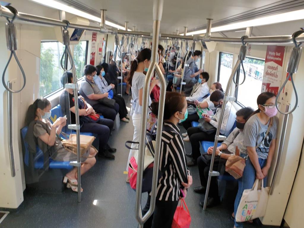 MRT คุมเข้มมาตรการ Social Distancing