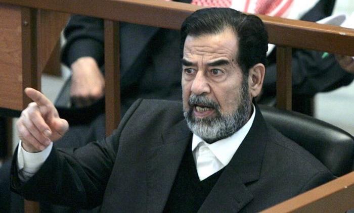 ซัดดัม ฮุสเซน อดีตประธานาธิบดีอิรัก