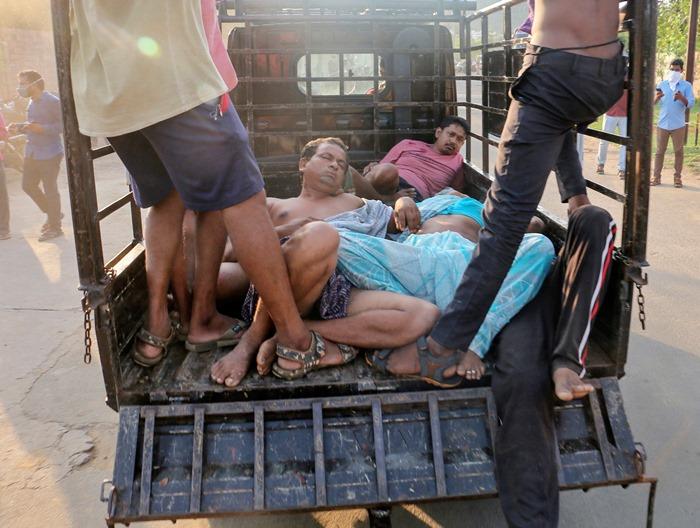 โรงงานเคมีกลุ่มแอลจีในอินเดีย'แก๊สรั่ว' ชาวบ้านดับ11ต้องนอนโรงพยาบาล 600