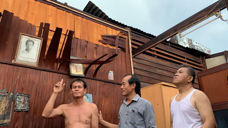 พายุลูกเห็บถล่มเมืองหนองคายอย่างหนัก บ้านพังกว่าร้อยหลังคา