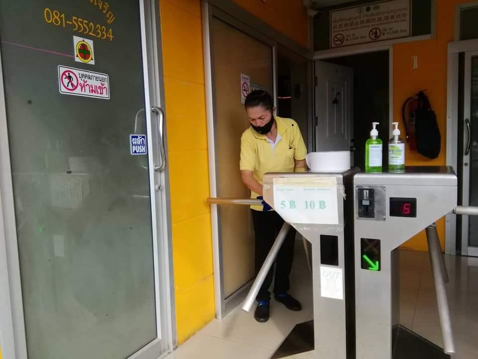 มีการทำความสะอาดสม่ำเสมอ (ภาพ : เพจตลาดนัดจตุจักรกรุงเทพมหานคร)