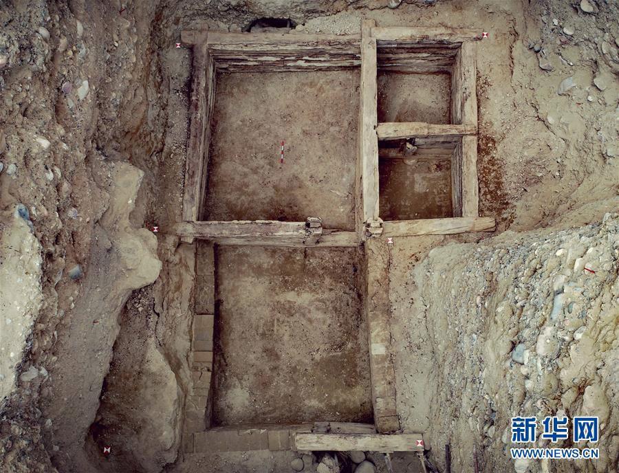 โครงสร้างภายในของหลุมศพในยุคอาณาจักรถู่โปของทิเบต มณฑลชิงไห่