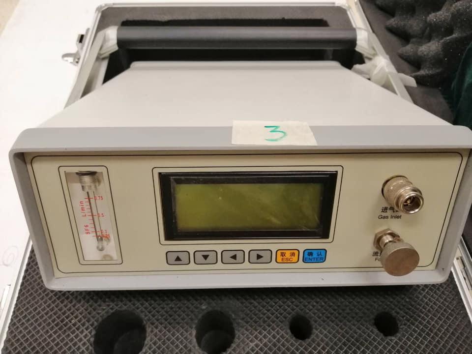 เครื่องตรวจสอบความชื้นแก๊ส