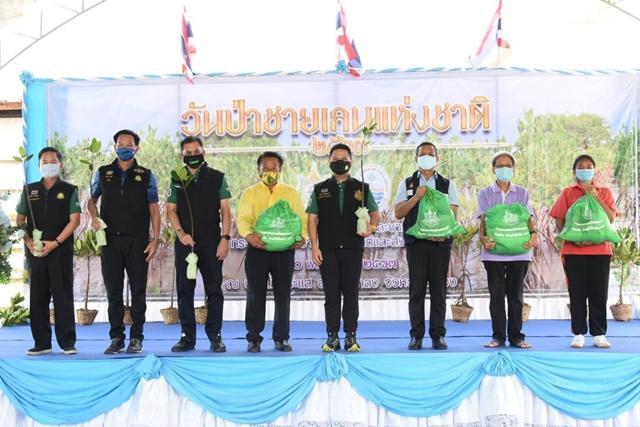 รมว.ทส. ย้ำป่าชายเลน คนไทยต้องร่วมกันอนุรักษ์มากขึ้น