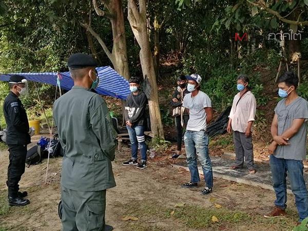คนไทยในมาเลเซียลักลอบใช้ช่องทางธรรมชาติ ริมฝั่งแม่น้ำโก-ลกกลับเข้าประเทศต่อเนื่อง