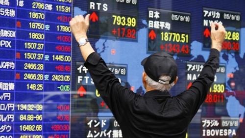 ตลาดหุ้นเอเชียปรับบวก ขานรับดาวโจนส์ปิดพุ่งกว่า 400 จุด