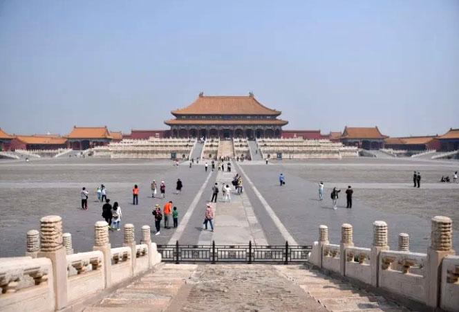 พระราชวังต้องห้าม ปักกิ่ง รับนักท่องเที่ยวเพิ่มเป็น 8,000
