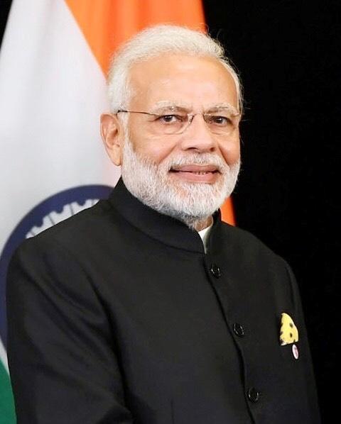 นายกรัฐมนตรีนเรนทา โมดี ของอินเดีย