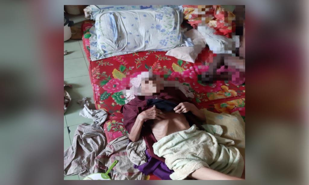 สุดสลด แม่ตาบอดวัย 80 นอนป่วยติดเตียง กับศพลูก ไม่รู้ว่าเสียชีวิตแล้ว