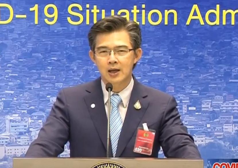 """โฆษก ศบค.แจงเหตุผลปลด """"จีน-เกาหลีใต้"""" จากเขตติดโรคโควิด ยังมีมาตรการกักตัว ไม่เอื้อนักท่องเที่ยวเข้า"""