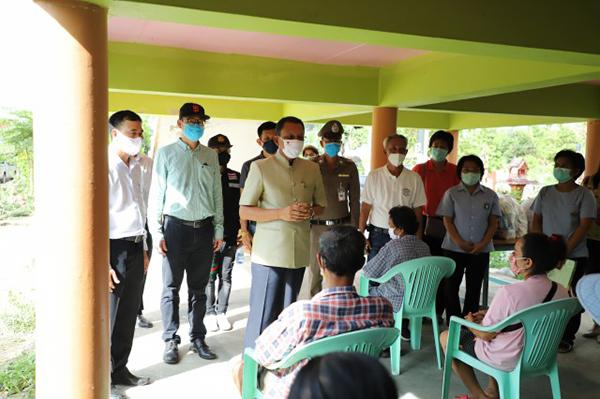 พ่อเมืองกรุงเก่า ลงพื้นที่ตรวจเยี่ยมเร่งให้ความช่วยเหลือประชาชนในพื้นที่