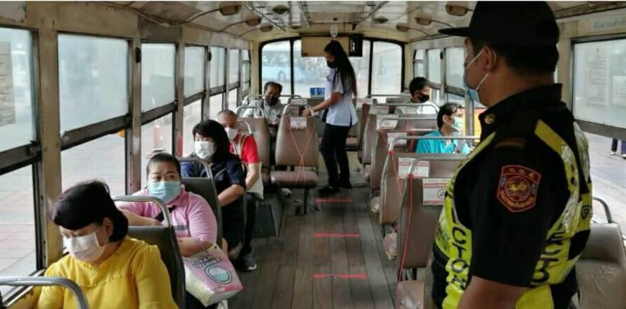 เข้มงวดป้องกันโควิดระบบรถโดยสาร หลังรัฐ คลายล็อคดาวน์เฟส2