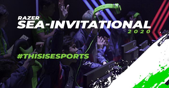 RAZER ประกาศเปิดตัว รายการแข่งขันกีฬาอีสปอร์ต THE INAUGURAL SOUTHEAST ASIAN INVITATIONAL 2020
