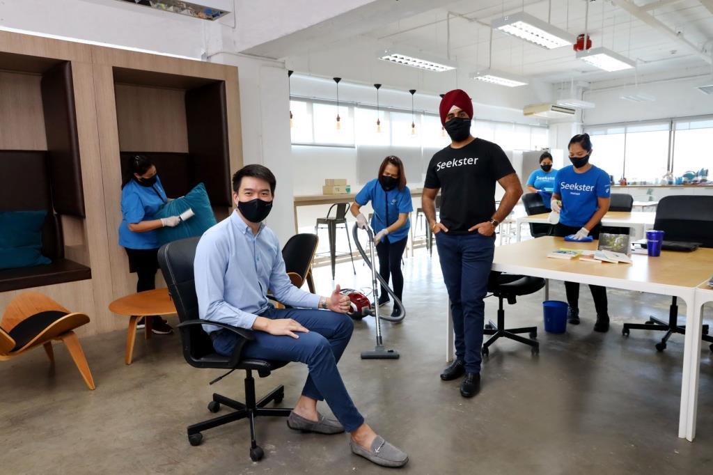 ดีแทค จับมือSeeksterช่วย SMEทำความสะอาดฆ่าเชื้อในสำนักงานฟรี 1,100บาท
