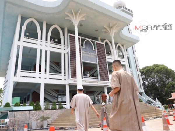 มัสยิด 448 แห่งในนราฯ เริ่มกลับมาจัดละหมาดวันศุกร์ภายใต้แนวทางปฏิบัติของจุฬาฯ