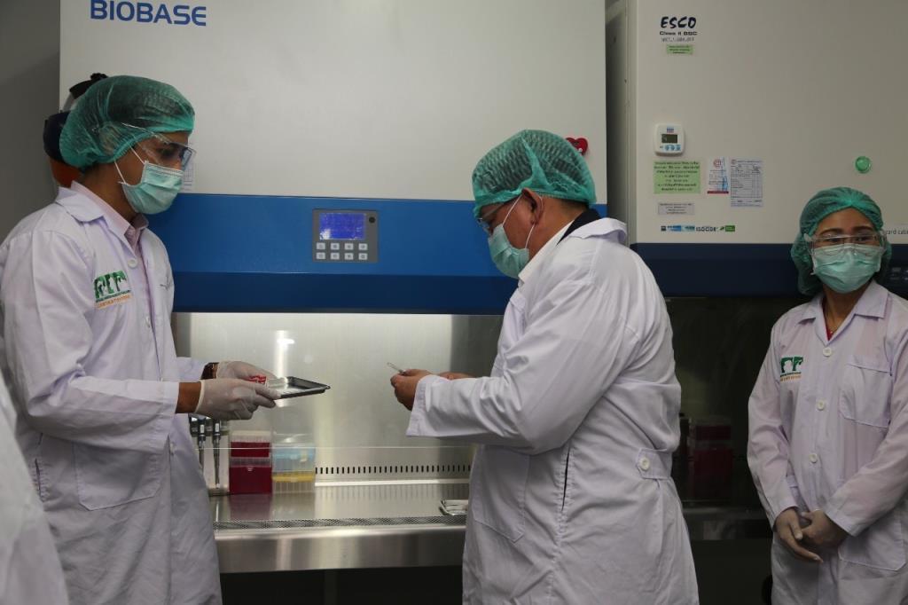 วัคซีนของไทยที่ใช้เทคโนโลยี mRNA ได้เริ่มทดลองในลิง