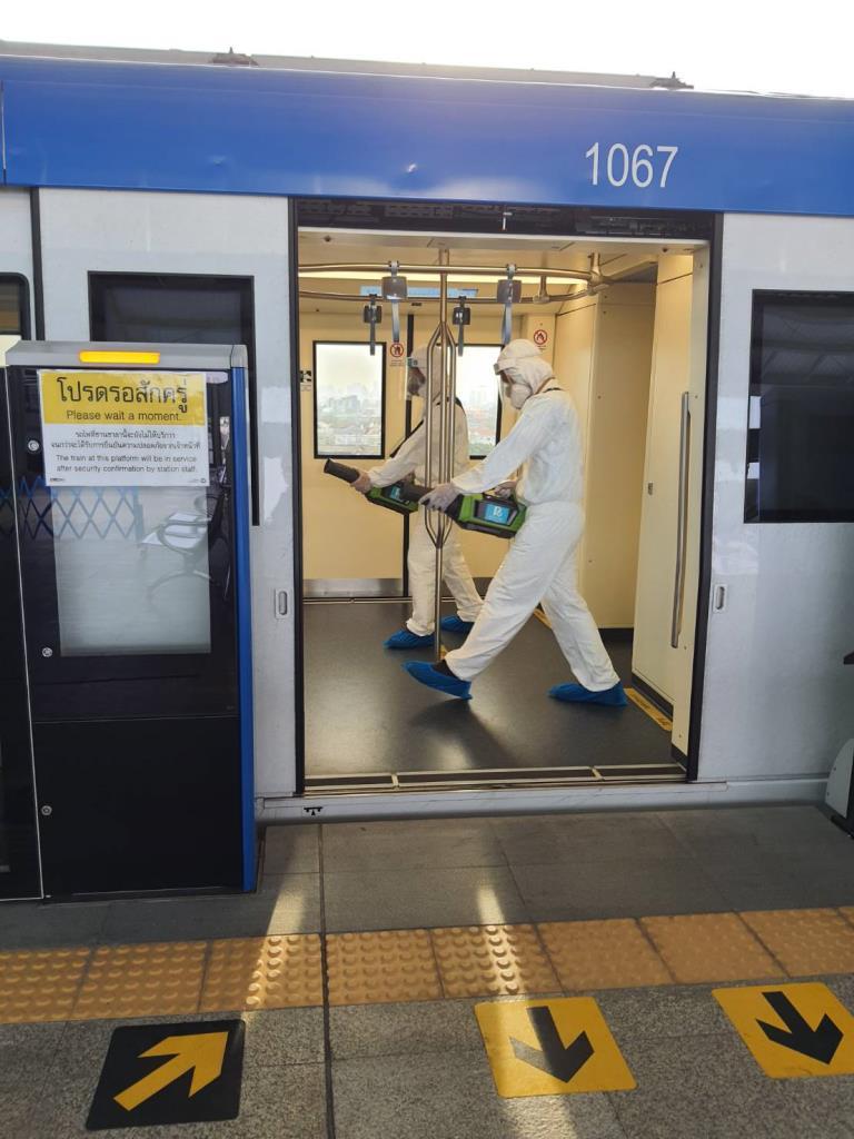 กรมรางตรวจเข้มการเดินทางระบบรถไฟฟ้า