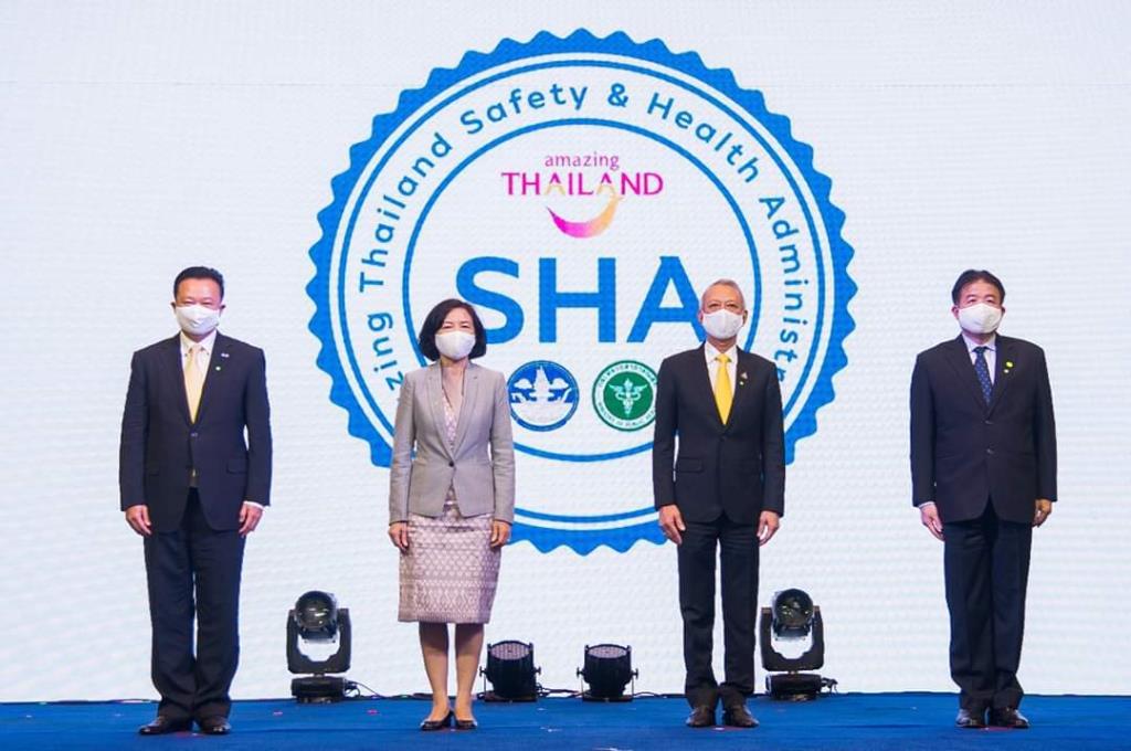 """ยกระดับท่องเที่ยวไทย ชูสัญลักษณ์ """"SHA"""" สร้างความมั่นใจ ปลอดภัย สไตล์ New Normal"""