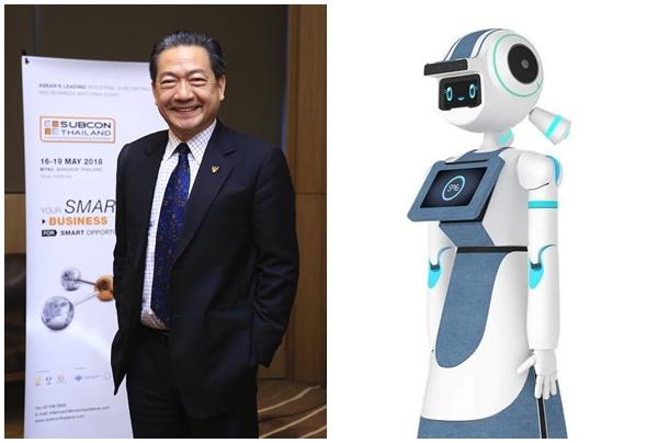 """หุ่นยนต์ """"มดบริรักษ์""""มาแล้ว""""สกพอ.จับมือฟีโบ้""""ส่งช่วยทีมแพทย์ดูแลผู้ป่วยโควิด-19"""