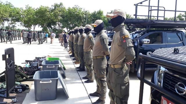 ผบช.ภ.6 ลุยฝึก นปพ. 9 จังหวัดเหนือล่าง รับมืออาชญากรรมรุนแรงหลังโควิดคลาย