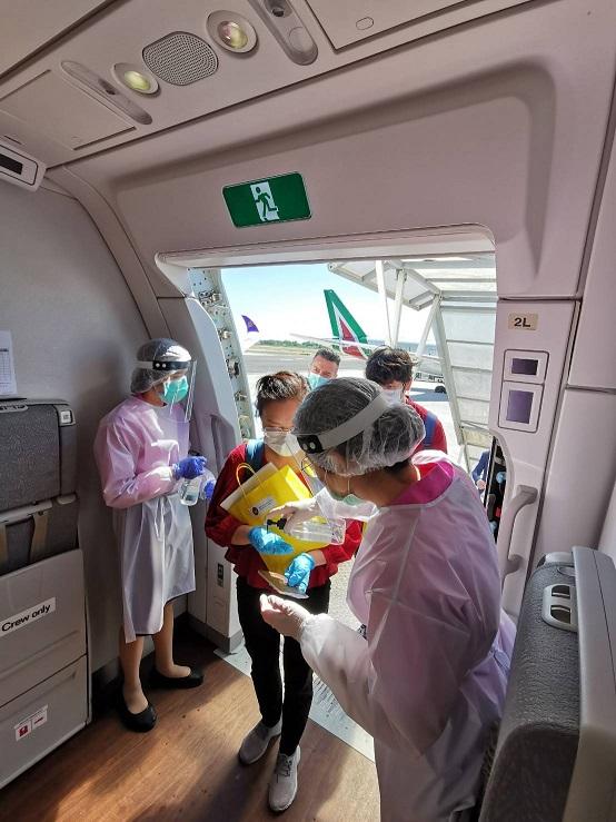 การบินไทย จัดเที่ยวบินพิเศษรับคนไทยจากอิตาลีกลับบ้าน