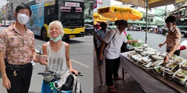 ใจบุญ! สาวแคนาดาร่วมบริจาคเงินให้โรงทาน เพื่อช่วยเหลือคนไทยในวิกฤตโควิด-19
