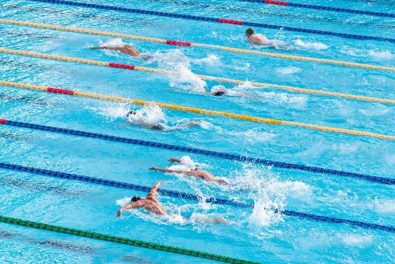 """""""อ.เจษฎ์"""" ยัน """"Lane Shield"""" ในสระว่ายน้ำมีประโยชน์จริง ป้องกันการติดเชื้อระหว่างผู้มาใช้บริการด้วยกัน"""