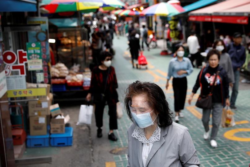 ผวา!! 'เกาหลีใต้' ติดเชื้อโควิดพุ่งวันเดียว 79 ราย ทำสถิติสูงสุดในรอบเกือบ 2 เดือน