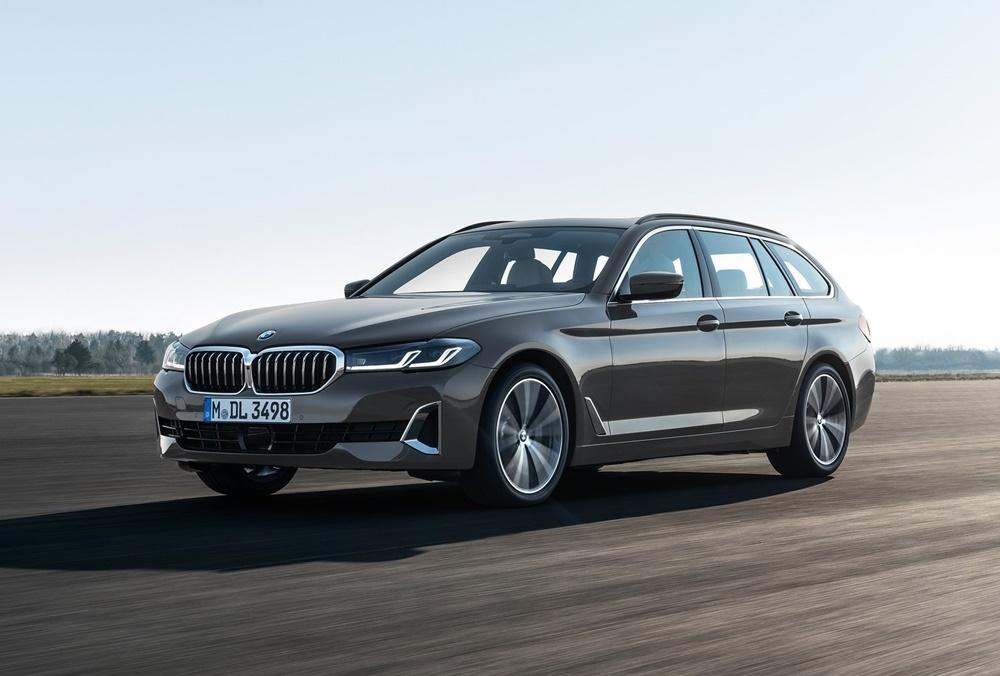 BMW 5-Series  ปรับโฉมพร้อมลุยตลาดหรูปีนี้