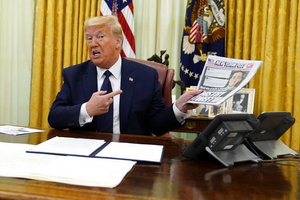 """อย่าให้โมโห! """"ทรัมป์"""" เซ็นคำสั่งพิเศษเปิดทางจัดการสื่อโซเชียล เอาคืนโดนทวิตเตอร์ติดแท็กแพร่ข่าวปลอม"""