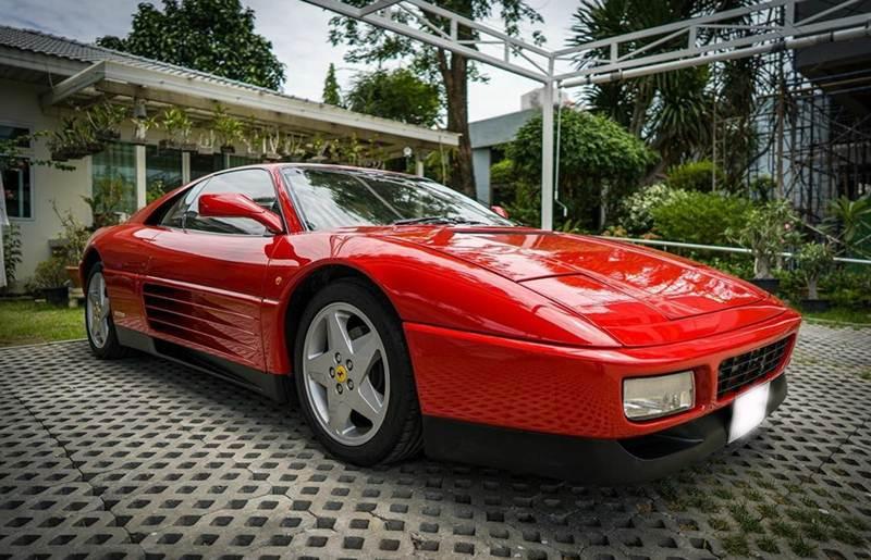 Ferrari 348TB สีแดง