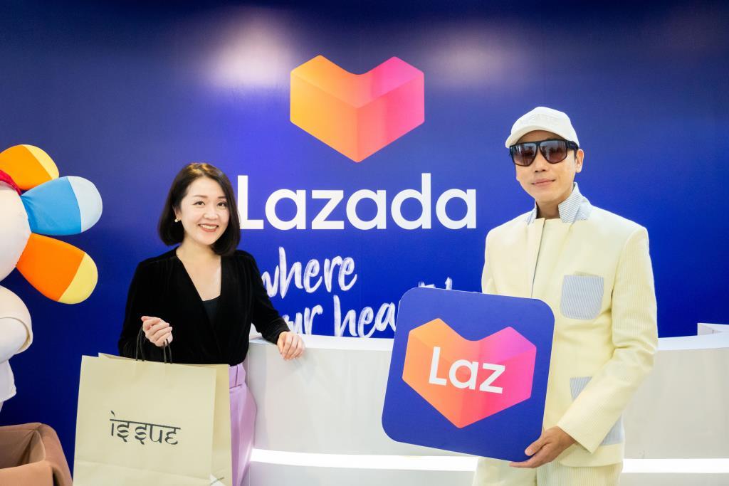 """""""ISSUE ผนึก Lazada""""รุก E-Commerce  ฝ่าโควิด19- เสิร์ฟแฟชั่นรับนิวนอร์มัล"""