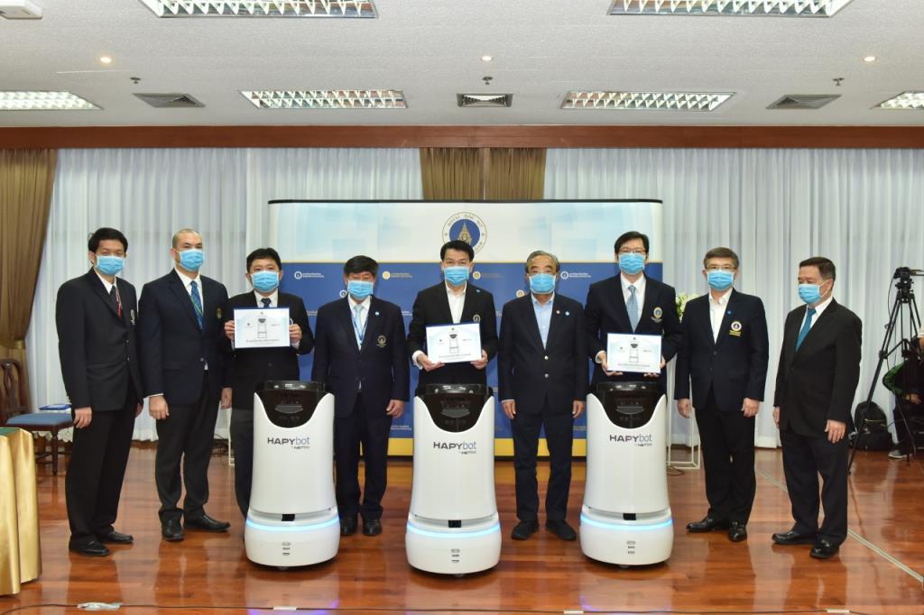 มหิดล เริ่มใช้ Hapybot หุ่นยนต์เคลื่อนที่อัจฉริยะ ผู้ช่วยแพทย์